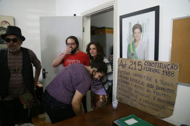 Mesmo com ocupação, atividades no Iphan não serão suspensas (Foto: Fernando Antunes)
