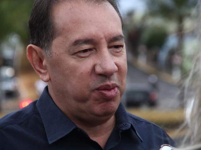 Diretor do Detran-MS, Gerson Claro. (Foto: Marcos Ermínio).