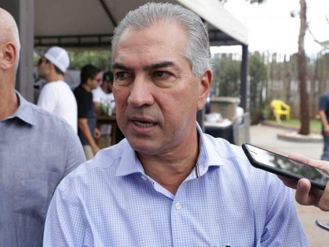 Governador comenta ida a Brasília em evento de pesca esportiva (Foto: Kísie Ainoã)