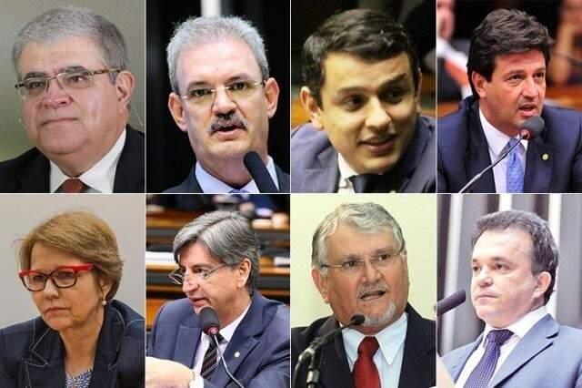Bancada de MS terá que votar sobre segunda denúncia contra Temer (Foto: Arquivo)