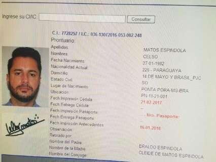 Minotauro, acusado de mandar matar policial, é procurado na fronteira