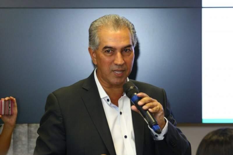 Reinaldo diz que teto de gastos deve entrar em vigor em 2018 (Foto: André Bittar)