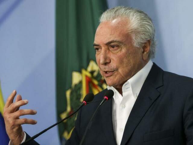 Presidente Michel Temer (Foto: Marcelo Camargo/Agência Brasil)