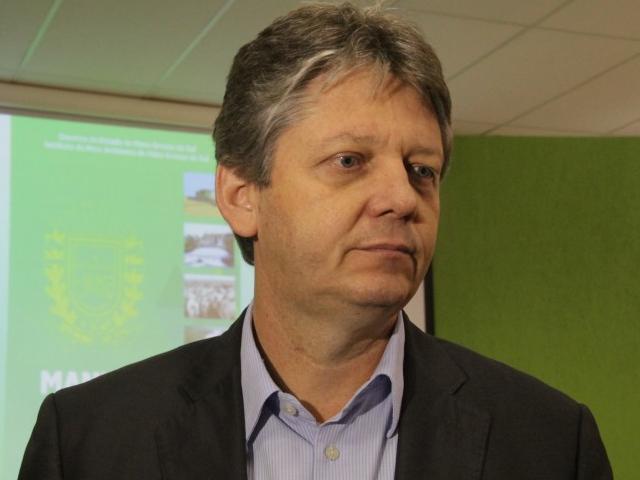 Jaime Verruck é o secretário de estado de meio ambiente (Foto: Marcos Ermínio)