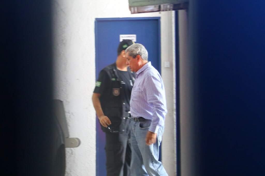 Puccinelli é apontado como o líder do esquema com prejuízo de R$ 308 milhões aos cofres públicos. (Foto: André Bittar/Arquivo)