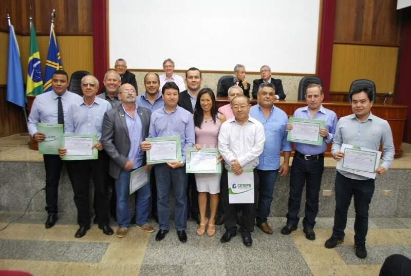 Certificado do curso de Perito Judicial Imobiliário - (Foto: Divulgação)