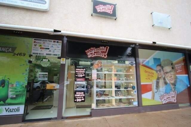 Loja fica na Rua Rui Barbosa, 2471.