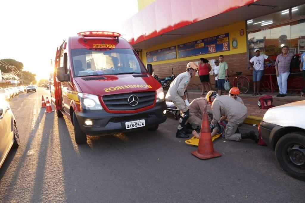 Acidente ocorrido no dia 10, no Aero Rancho, em Campo Grande: capital registrou queda nos índices (Foto/Arquivo: Kisie Ainoã)