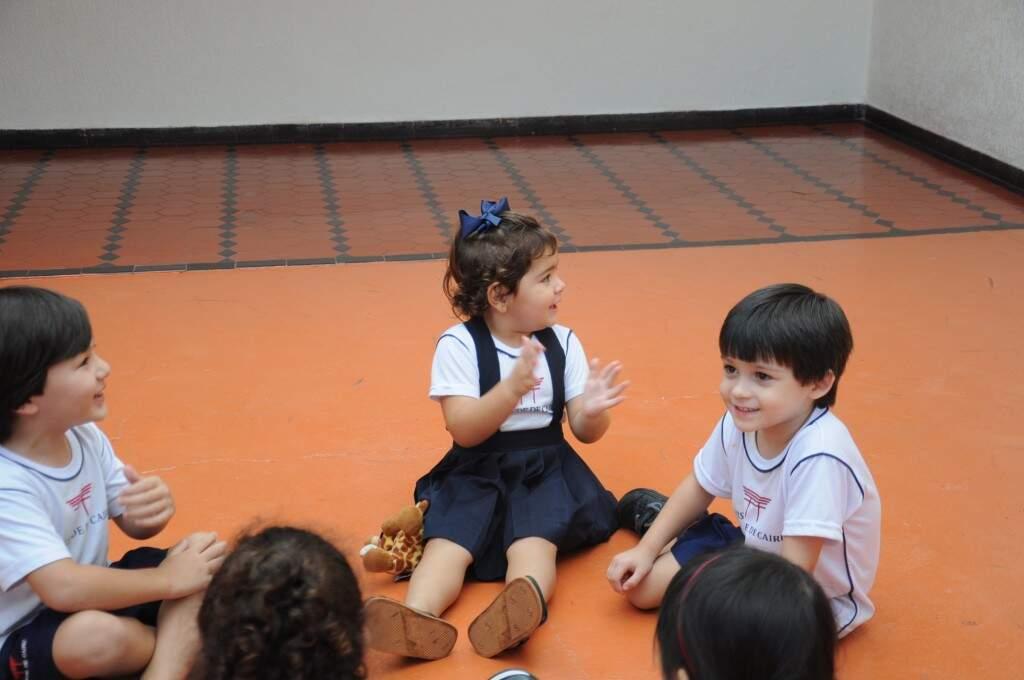 O uniforme continua sendo obrigatório para alunos até o 2º ano. (Foto:  Paulo Francis)