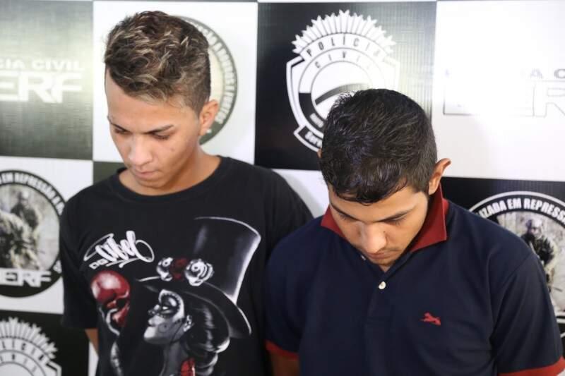 Kevin e Fernando foram presos na sexta-feira. (Foto: Fernando Antunes)