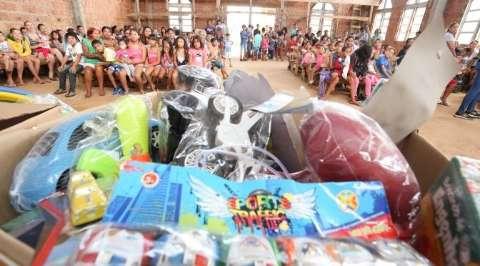 Campanha estimula solidariedade entre servidores para doação de brinquedos
