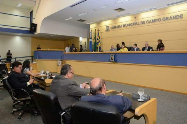 Câmara Municipal de Campo Grande (Foto: Minamar Jr)