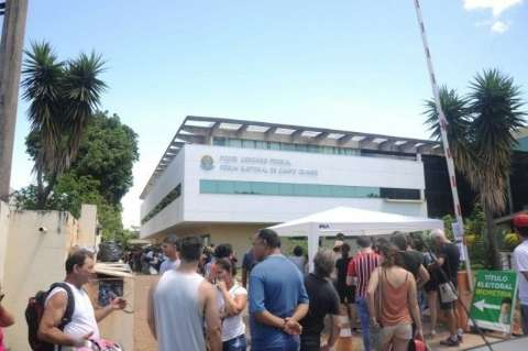 TRE cancelou 80 mil títulos de quem não fez biometria no prazo na Capital