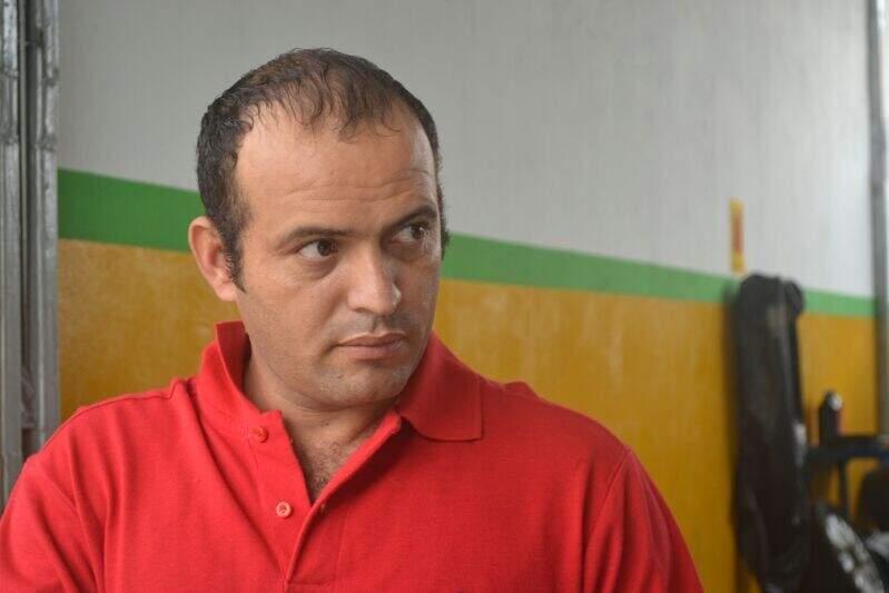 Fábio contou que sofre com o problema há nove anos (Foto: Filipe Prado)