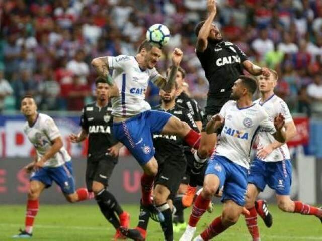 O Bahia agora ocupa a 15ª colocação no Brasileirão e o Atlético-MG está em 18º entre os times rebaixados. (Foto: Bahia FC)