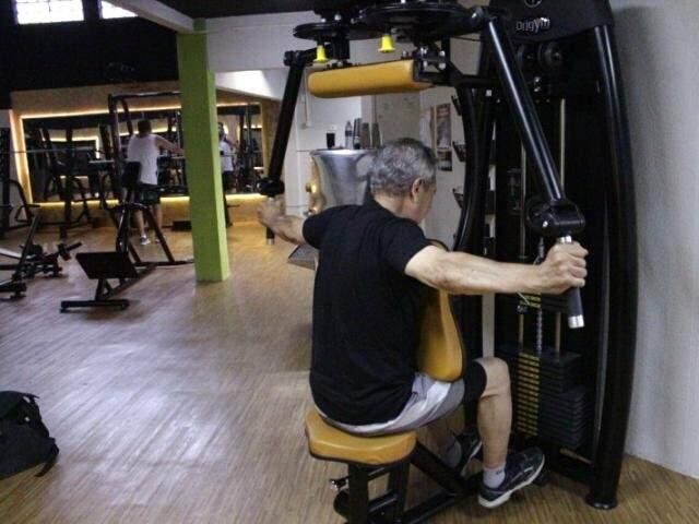 Comida sempre movimenta a internet, mas treino também não fica de fora