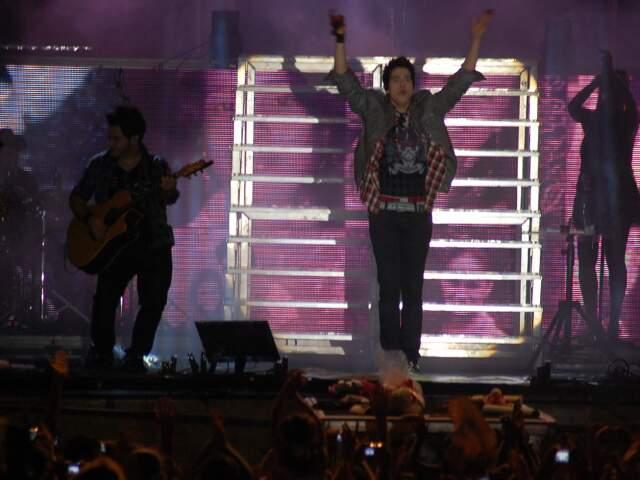Show de Luan Santana foi premiado como o melhor do ano. (foto: Simão Nogueira)