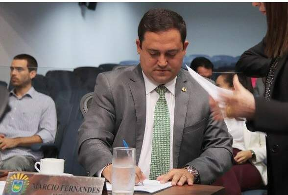 Deputado Márcio Fernandes acredita que quem já estava com o partido deve continuar, mesmo com a mudança (Foto: divulgação/Assembleia Legislativa)