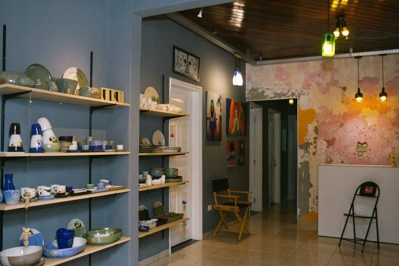 O local reúne design, arquitetura, moda, fotografia e gastronomia. (Foto: Pri Mota)
