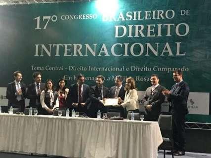 Campo Grande vai sediar Congresso Brasileiro de Direito Internacional