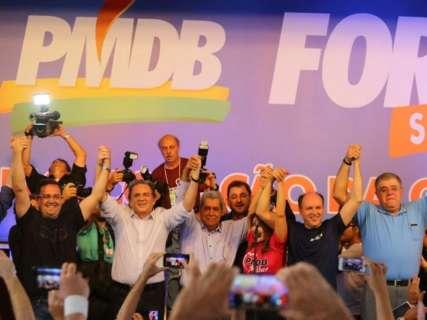 Presença tucana na convenção do PMDB levanta hipótese de aliança em 2018