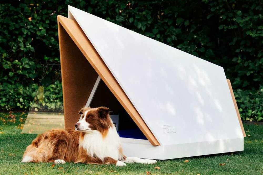 Ford cria casinha para cães com isolamento acústico