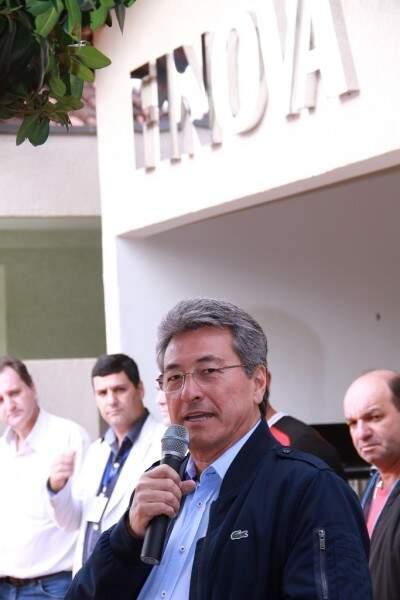 Prefeito Roberto Hashioka, afirma que a Finova vai promover desenvolvimento regional e efetivação de trabalho. (Foto: Divulgação)