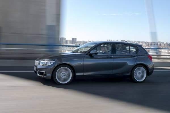 BMW Série 1. Foto divulgação.