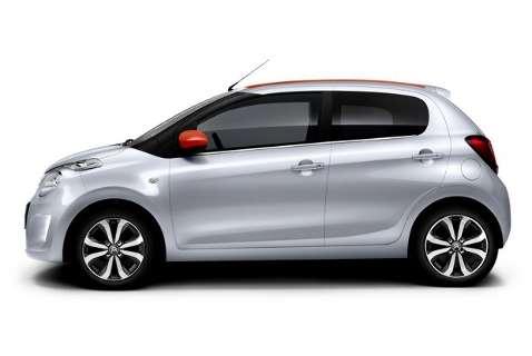 Citroën divulga imagens do novo C1