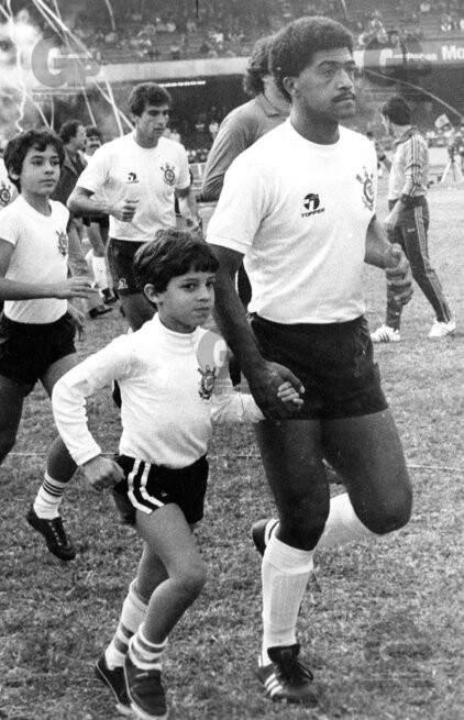 O sul-mato-grossense Lima, ídolo do Corinthians nos anos 80 (Foto: Arquivo)