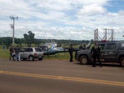 Foco de constante tensão, fronteira com o Paraguai é alvo de ação do DOF