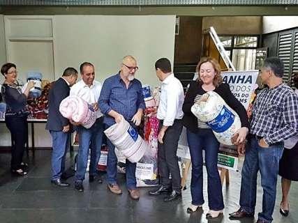 Campanha do Governo do Estado arrecada mais de 3 mil cobertores