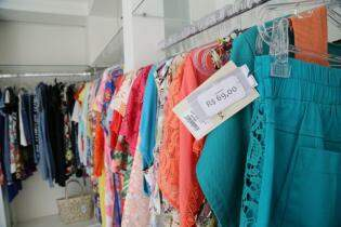As bermudas também entraram no bazar, todas por R$ 69,00. (Foto: Marcos Ermínio)