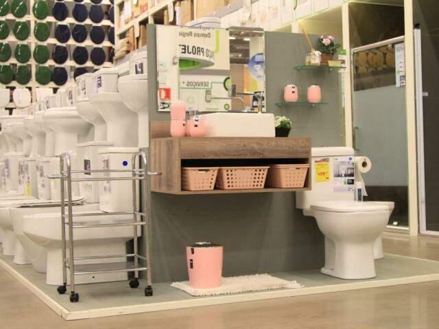 Festival de acabamentos também corta preços no setor de sanitários.