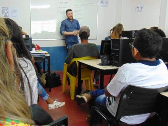 Alunos durante uma das aulas na Capital. (Foto: Divulgação)