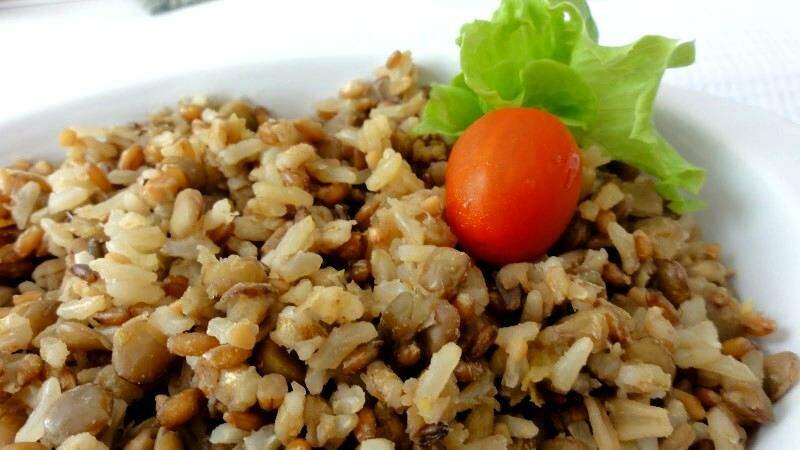 Arroz com lentilha deixa o carboidrato mais saudável