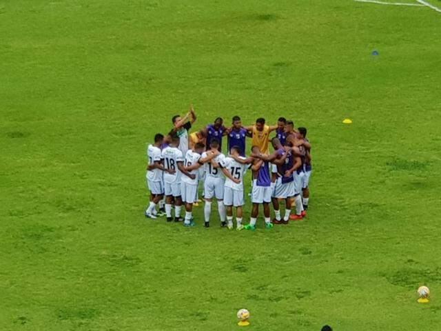 Jogadores do Novo mostram união antes da estreia na Copa do Brasil contra pernambucanos (Foto: Divulgação)