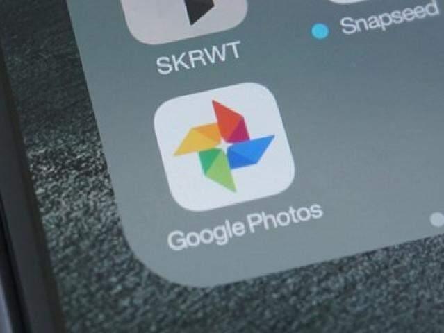 Ícone de acesso ao Google Fotos pelo celular. (Foto: Reprodução/Tecmundo)