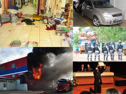 As imagens que traduzem o que foi o ano de 2012, mês a mês