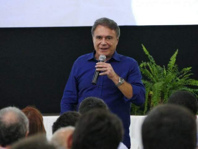 Candidato à presidência, Álvaro Dias, chega na Capital por volta das 17h40 (Foto: Divulgação - Podemos)