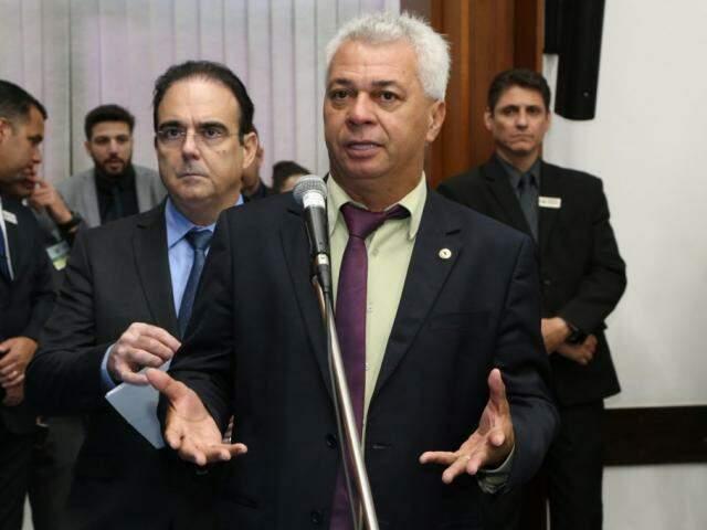 Projeto do deputado Cabo Almi (PT) foi apresentado na Assembleia (Foto: Assessoria/ALMS)