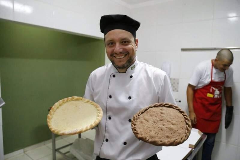 Para as doces, massas são de baunilha ou chocolate. (Foto: Gerson Walber)