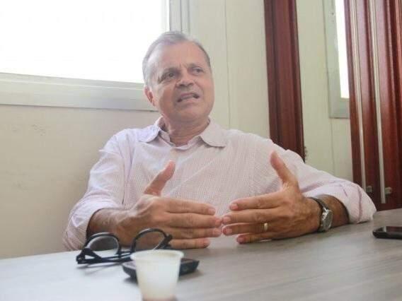 Chico Maia em entrevista ao Campo Grande News (Foto: Arquivo)