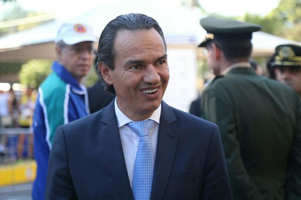 Prefeito Marquinhos Trad citou a estabilidade política de Campo Grande (Foto: Marcos Ermínio)