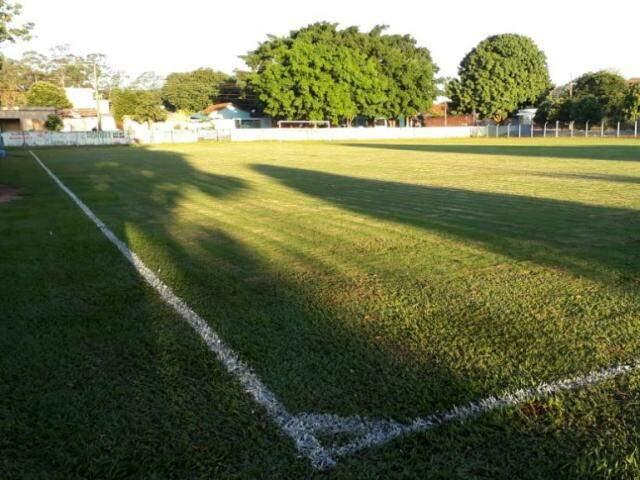 Campo do bairro Cidade Morena será o palco da final (Foto: Leomar Alves Rosa - Divulgação)