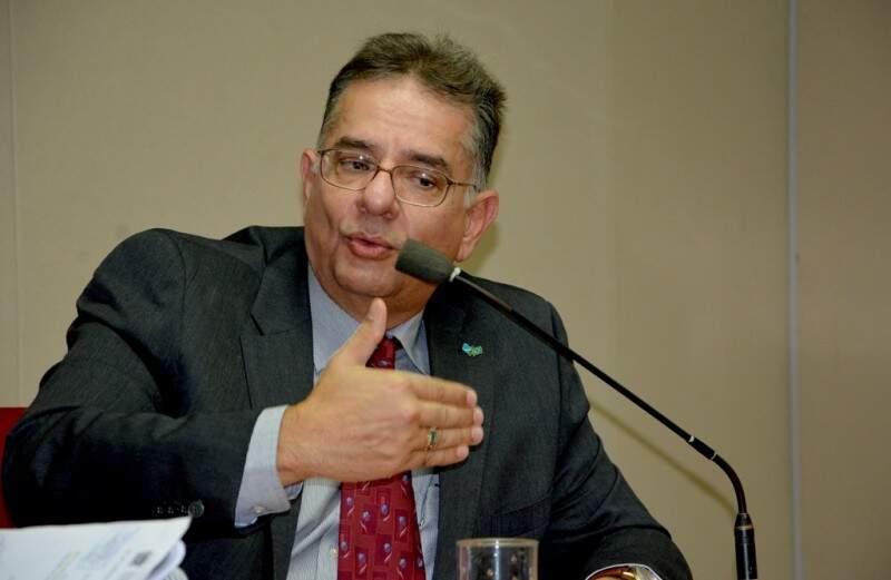 Nelson Tavares é secretário estadual de saúde de Mato Grosso do Sul (Foto: Arquivo)