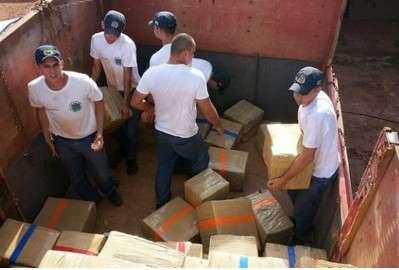 Apreensões de contrabando aumentam em 174% em rodovias estaduais