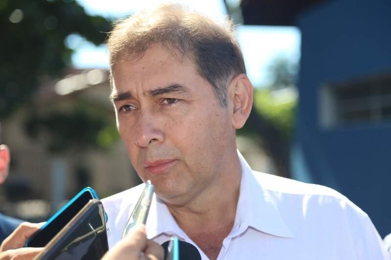 O prefeito Alcides Bernal afirmou que nesta semana deve acontecer a desocupação da área pública da igreja do vice-prefeito afastado Gilmar Olarte (Foto: Fernando Antunes)