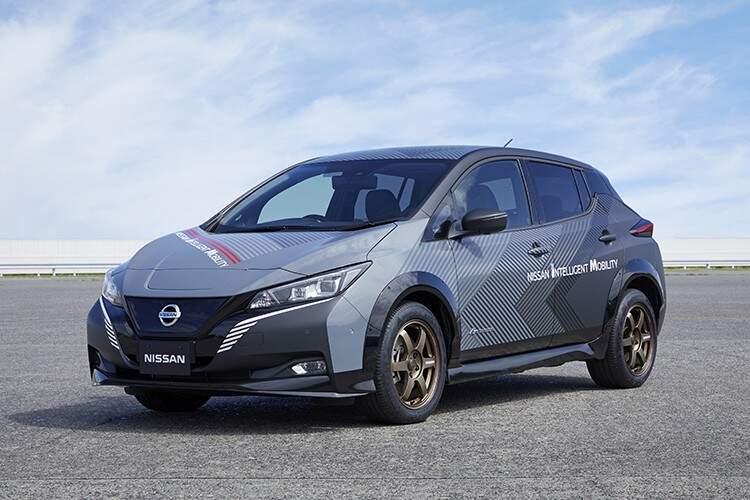 Visual do novo Nissan LEAF e+. (Fotos: Divulgação Nissan)