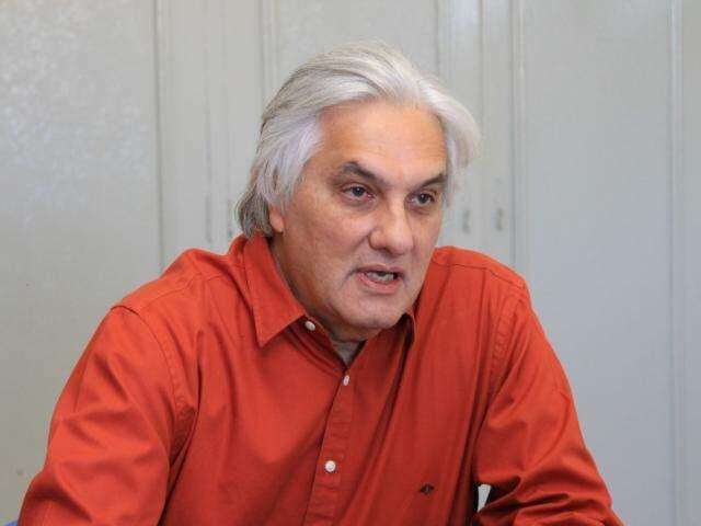 Ex-senador Delcídio do Amaral em entrevista ao Campo Grande News. (Foto: Marina Pacheco).